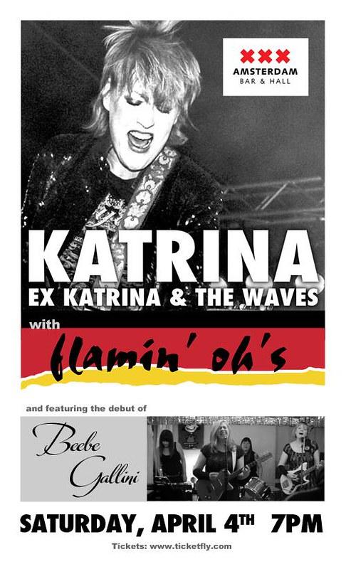 04/04/15 Katrina/ Flamin' Oh's @ Amsterdam Bar & Hall, St. Paul, MN