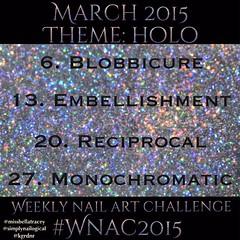 #WNAC2015 March / Holo