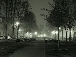 Nebbia in via Don Morosini ore 05.27