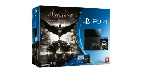 Limited edition Batman: Arkham Knight Steel Grey PS4 announced