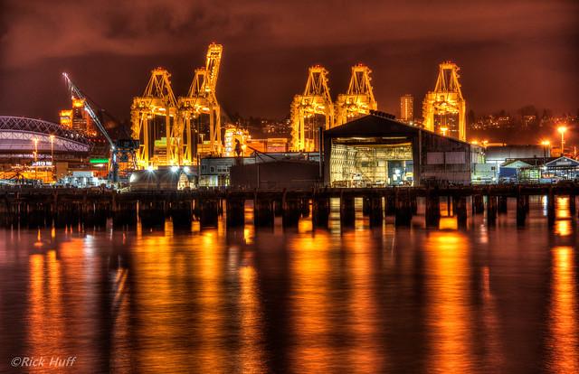 портовые доки