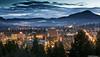 Twilight over Eugene