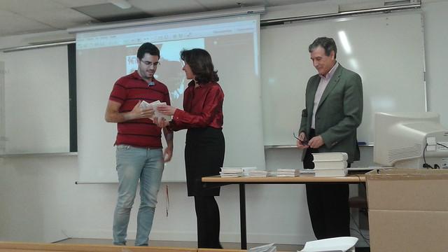 entrega de premios III concurso relatos