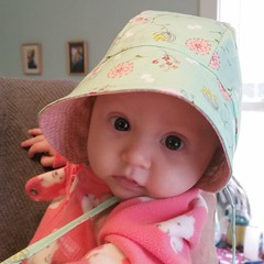 Drop everything and sew the nearest baby a #purlsoho bonnet.