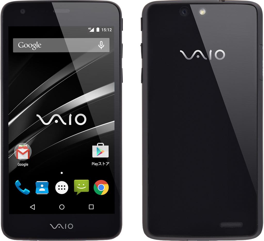 VAIO Phone VA-10J 実物大の製品画像