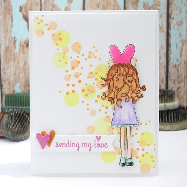 Sending My Love by @Jennifer Ingle #simonsaysstamp #fallingforyou #sssfallingforyou #diy #cards #spectrumnoir