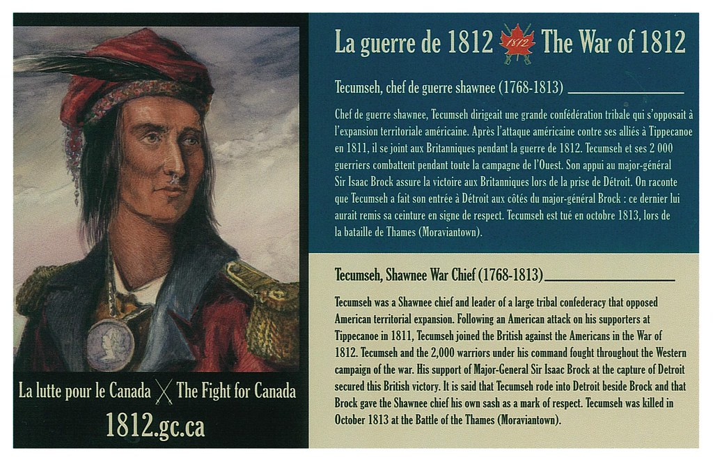 War of 1812 - Tecumseh