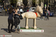 NELSON No.10 - Shaun The Sheep - Shaun in the City - London - 150423 - Steven Gray - IMG_0169