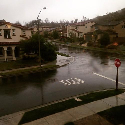 Rain. San Diego. Really. #AmericasFinestCity