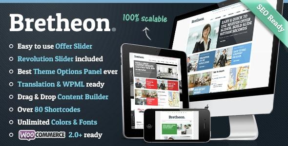 Bretheon v2.3.4 - Premium WordPress Theme
