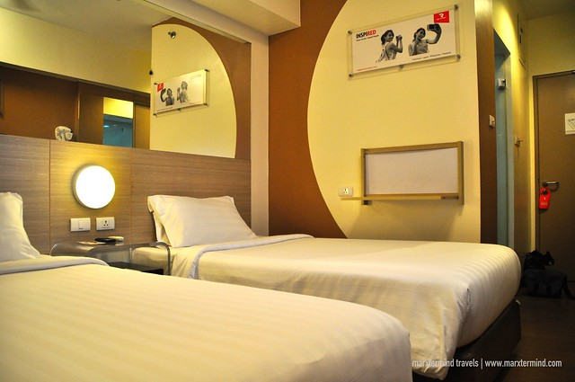 Our Twin Room at Red Planet Cebu