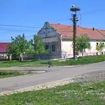Elternhaus von Werner Gilde. Auch das kleinere >>Vorphalthaus<< (Haus des Bauern im Ruhestand, nachdem er seine Wirtschaft den Nachkommen übergeben hatte) mit dem kleineren Giebel und nun neuem Dach gehörte dazu.