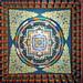 India - Bihar - Bodhgaya - Bhutanese Monastery - Ceiling - 178