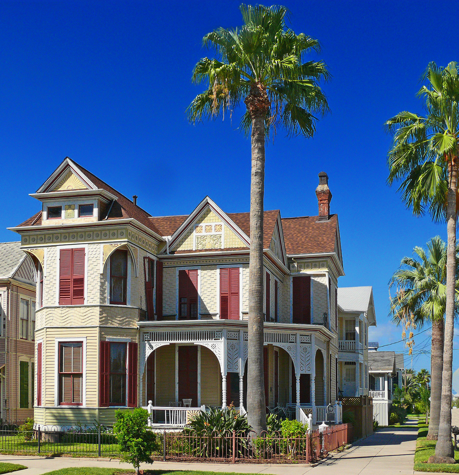 Fredrick William Beissner House, Galveston, Texas. Credit i_am_jim
