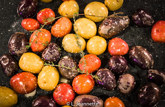 Roasted Baby New Potatoes with Kosher  Salt and Th…