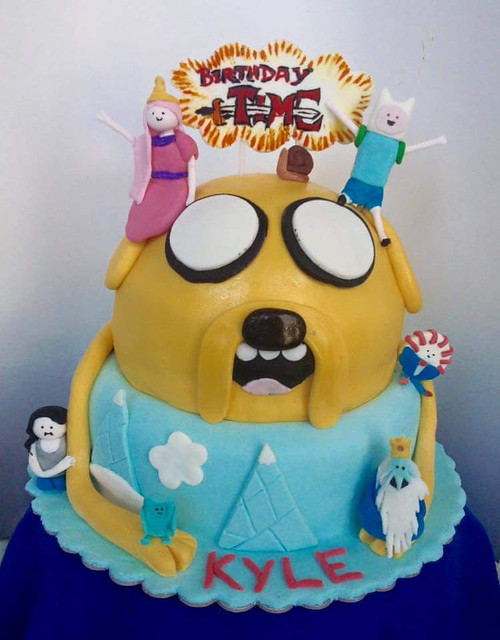 Adventure Time Cake by Jannah Amhei Quiñola of Pastry Quin