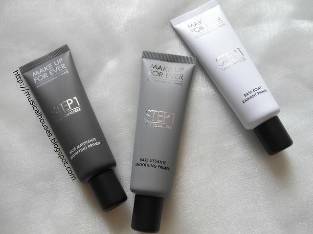 MUFE Step 1 Skin Equalizer Mattifying Smoothing Radiant Primer 3