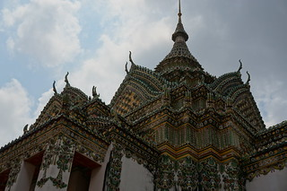 Ornate temple at Wat Pho