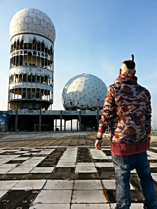Devil's Mountain. Next few days will go down in history. TEUFELSBERG Berlin
