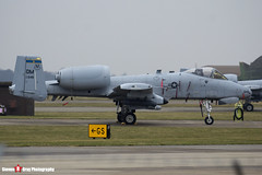 82-0648 DM - A10-0696 - USAF - Fairchild A-10C Thunderbolt II - Lakenheath, Suffolk - 150319 - Steven Gray - IMG_5586