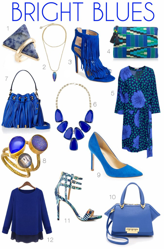 Obsessed with Bright Blue | #LivingAfterMidnite