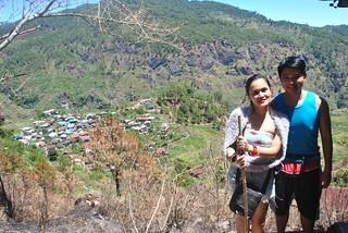Nikko and Janna En Route to Bomod-Ok Falls