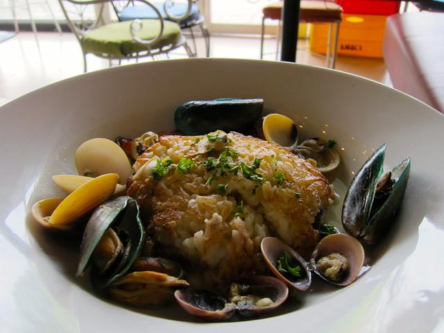 Amici Seafood Chowder Risotto