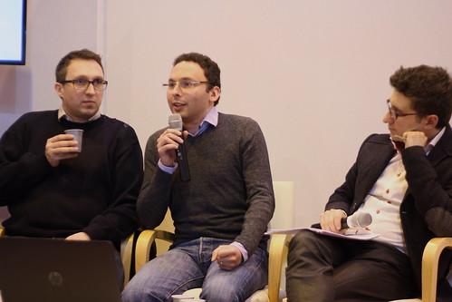 Sébastien Célimon (Glénat), Victorien Minière (ComiXology) - Salon du Livre de Paris 2015