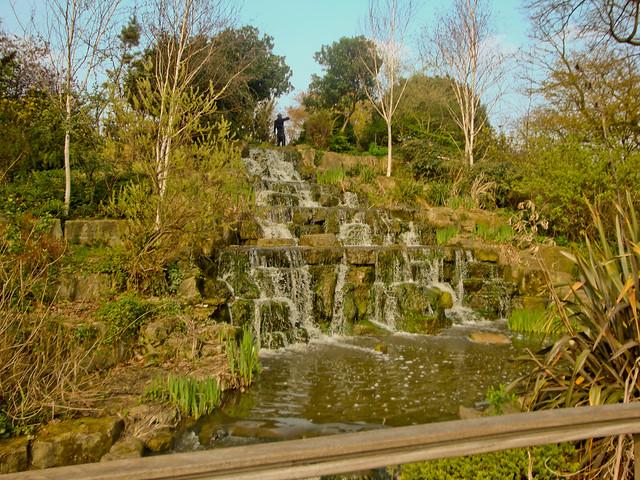 Regent's waterfall