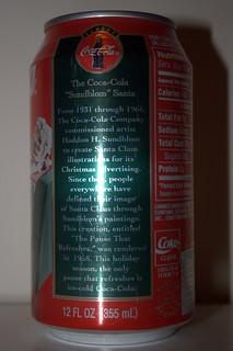 1995 Christmas Coke Can