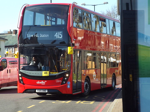 Brand new - Abellio London 2515, YX15OWD at Tulse Hill on route 415