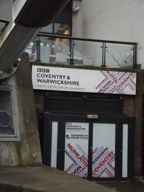 BBC Coventry & Warwickshire - Priory Place - Hale Street, Coventry