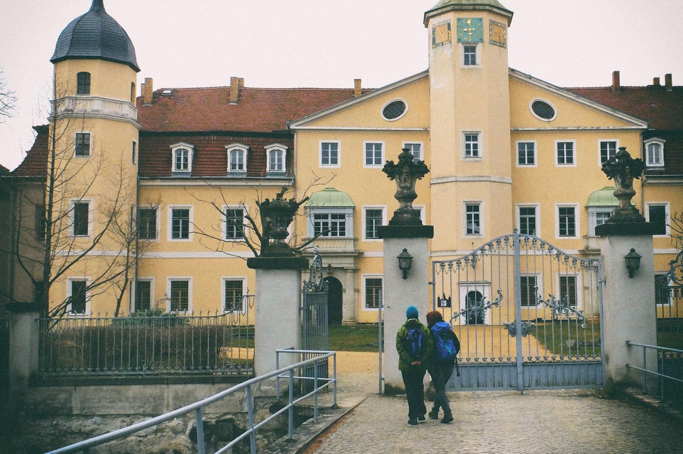 Am Hermsdorfer Schloss
