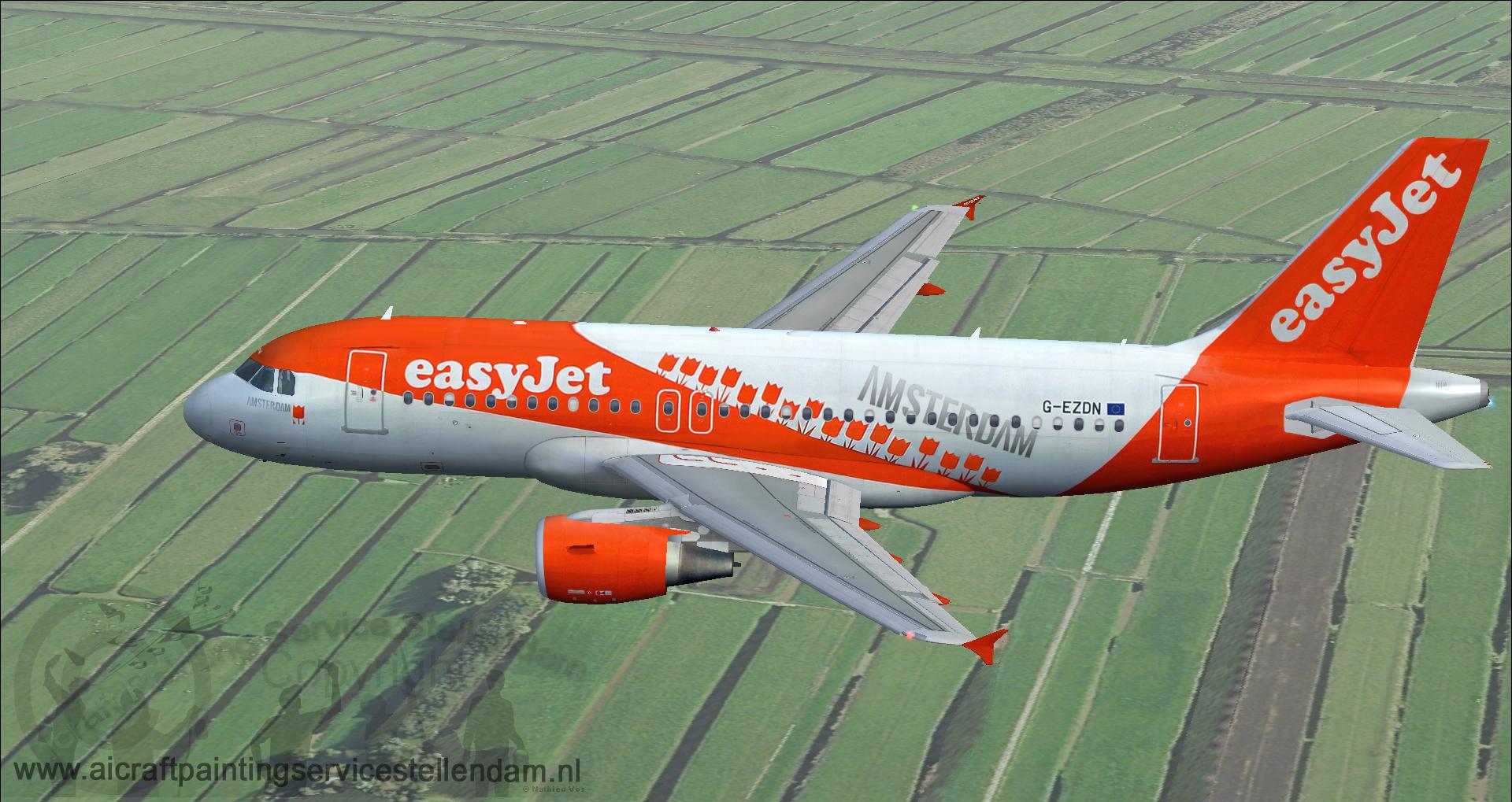ProjectAirbusA319-111Easyjet_AmsterdamHub_G-EZDN5