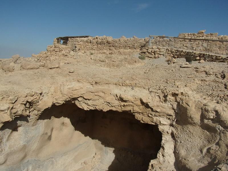 Cistern in Masada