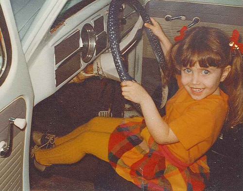 Quinn driving VW