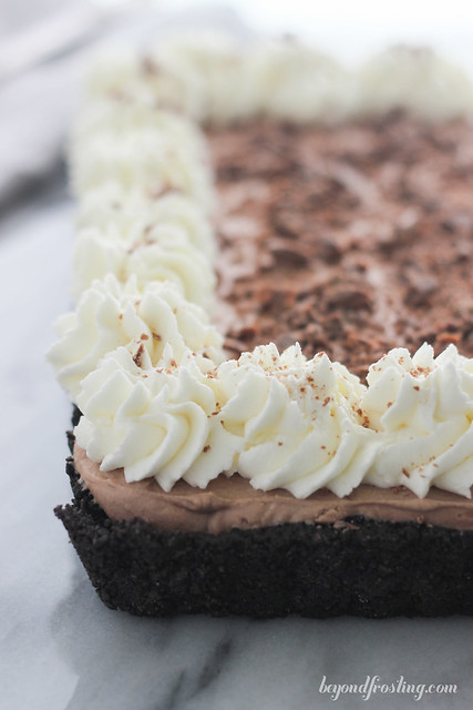 Satisfy your chocolate cravings with his Malted Chocolate Cheesecake Mousse.