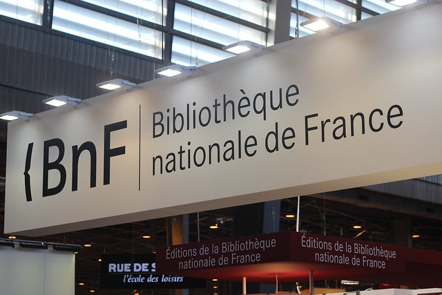 BnF (Bibliothèque nationale de France) - Salon du Livre de Paris 2015