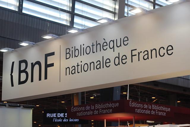 BnF (Bibliothèque nationale de France) - Salon du Livre de Paris 2015
