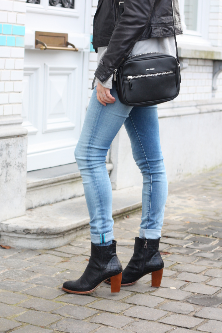 replay hyperflex skinnies, zinda ankle boots