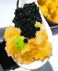 """EGGS AND POTATO"" (BAKED POTATO AND CAVIAR)"