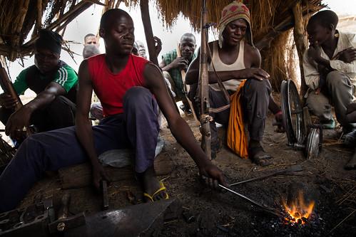 The gunsmith's forge, Nigeria