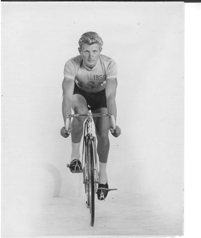 Cliff Burvill, Australian cyclist, competed in the team pursuit event at the 1956 Summer Olympics.