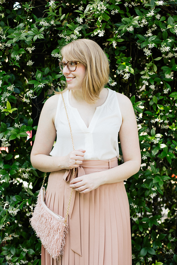 ann taylor blush skirt9