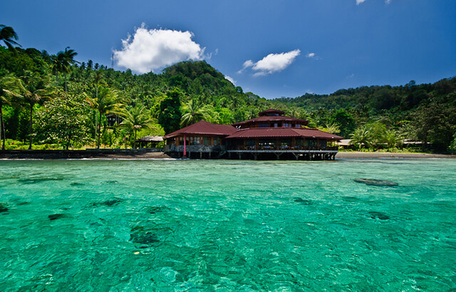 Kungkungan Bay Resort, North Sulawesi attractions