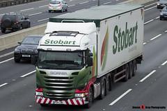 Scania R450 6x2 - PY14 LWA - H8371 - Katie Marie - Eddie Stobart - M1 J10 Luton, Bedfordshire - Steven Gray - IMG_2601