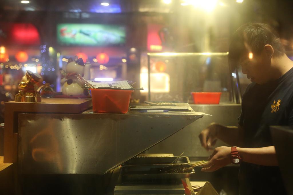 台北串燒店推薦,台北宵夜,台北熱炒街美食餐廳,台北燒烤店推薦,柒串燒屋,柒串燒屋菜單,柒串燒屋評價,火鍋燒烤吃到飽︱火鍋︱燒烤,長安東路美食 @陳小可的吃喝玩樂