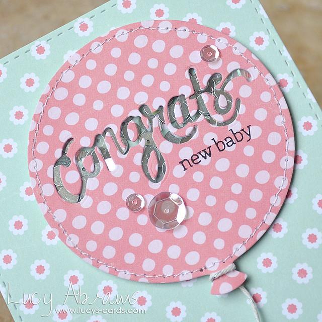 Congrats Balloon 2 by Lucy Abrams