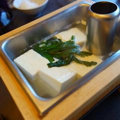 朝 湯豆腐