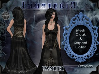 Immateria Tanith Obsidian